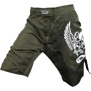 Venum Voodoo Army Green Fight Shorts 